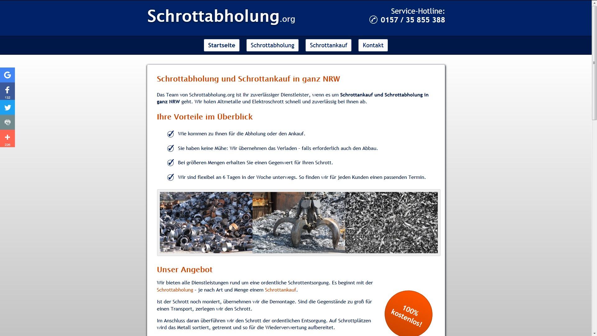 Schrottabholung Marl