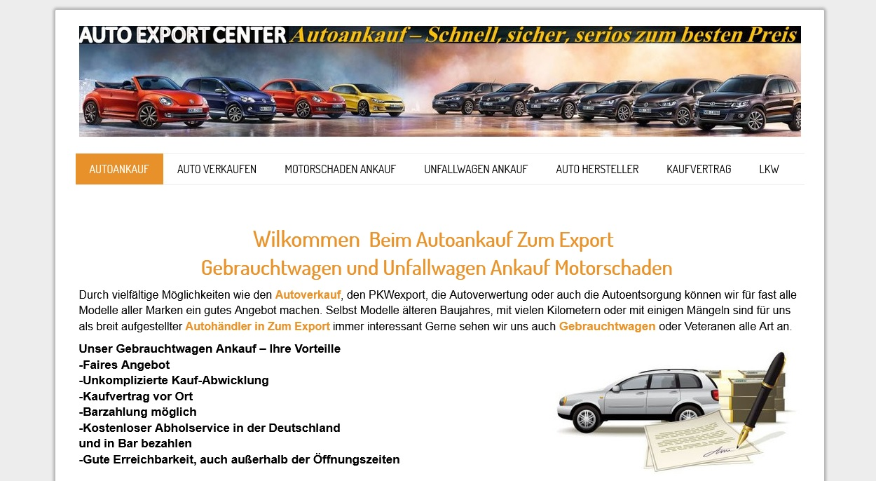 Autoankauf in Plauen -