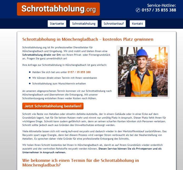 Schrottabholung Mönchengladbach - mit Schrott Geld ...